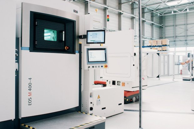 EOS M 400-4 in the first NextGenAM facility.