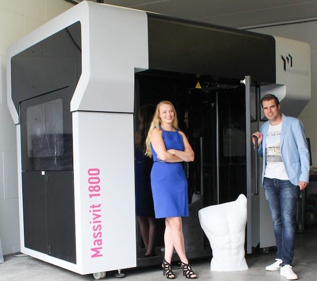 3D Next Level installs first Massivit 1800 3D Printer in Benelux