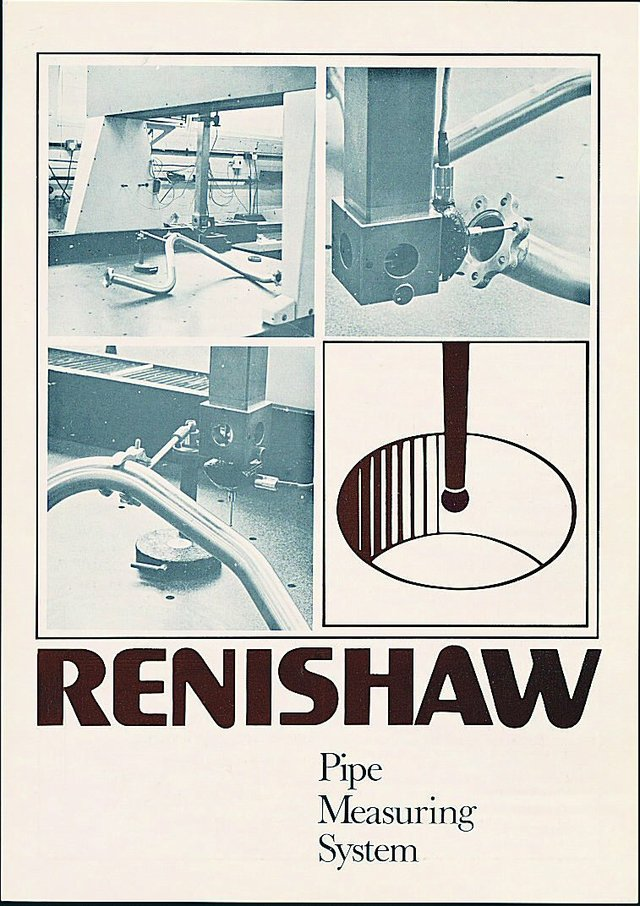 Renishaw early promotional material