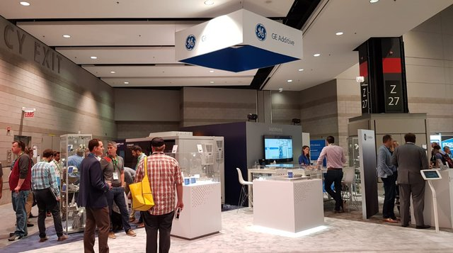 GE Additive Stand IMTS