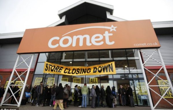 Comet shutdown