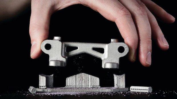Metal material extrusion part Desktop Metal