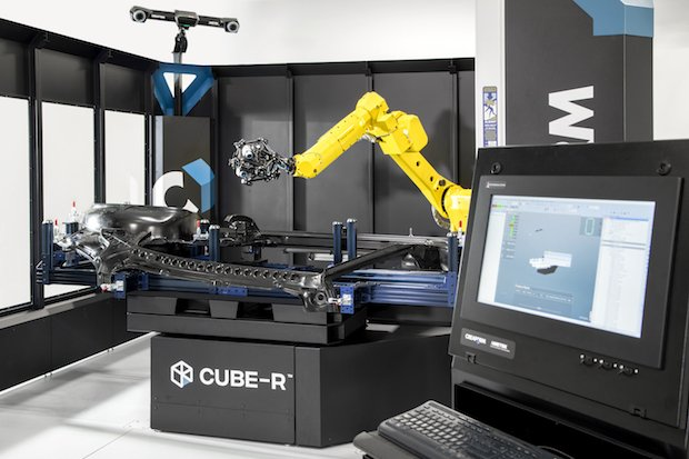 Creaform Cube-R CMM system.