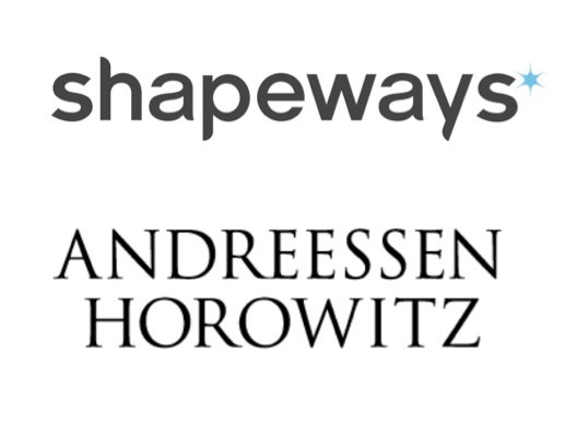 Shapeways venture capital investment