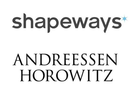 Shapeways venture capital investment