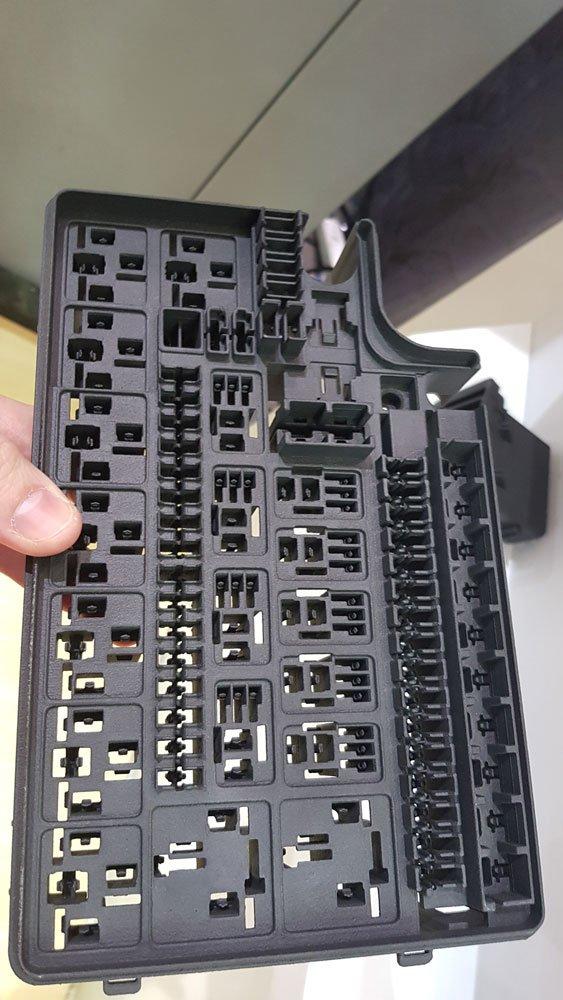 Fine detail on new Flight Technology parts.