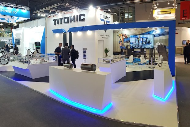 Titomic Formnext stand