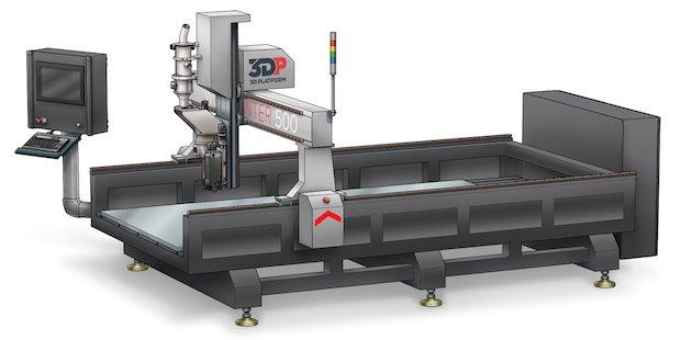 3D Platform WorkCenter 500.
