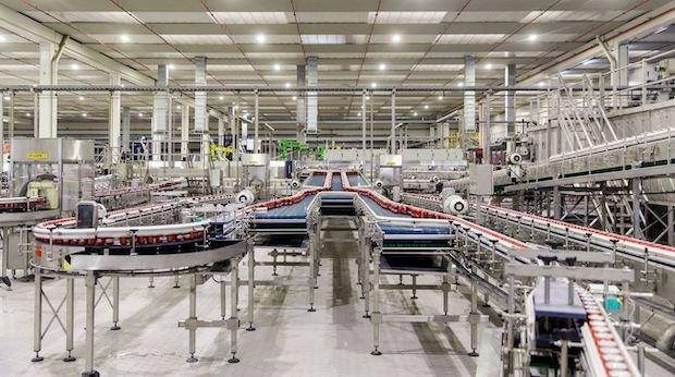 Heineken manufacturing line in Seville.