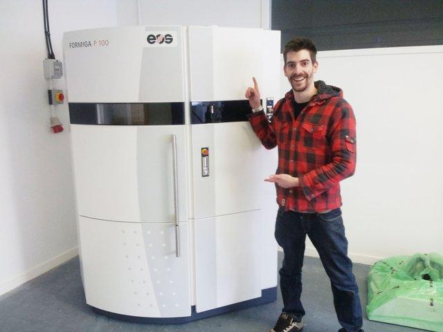 Nick Allen 3D printer