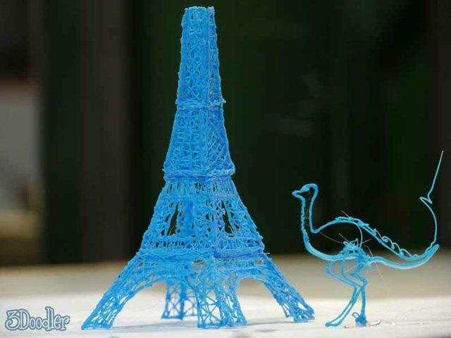 3Doodler Eiffel