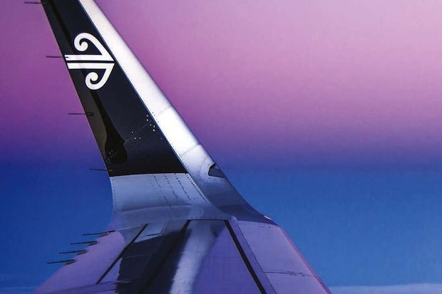 Air New Zealand wing tip Shutterstock