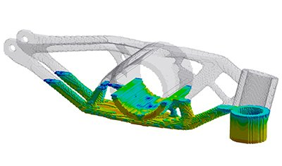 ANSYS simulation