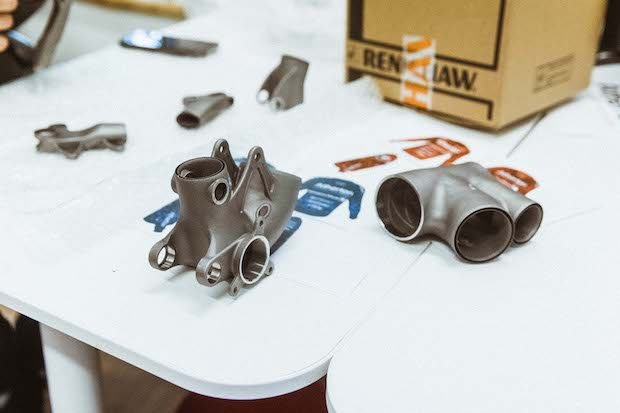 Parts printed for Atherton Bikes Renishaw