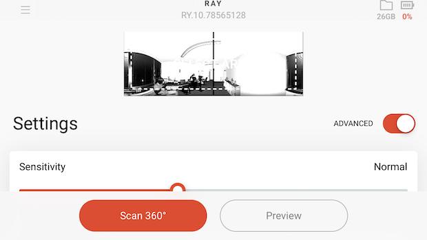 Artec Ray app