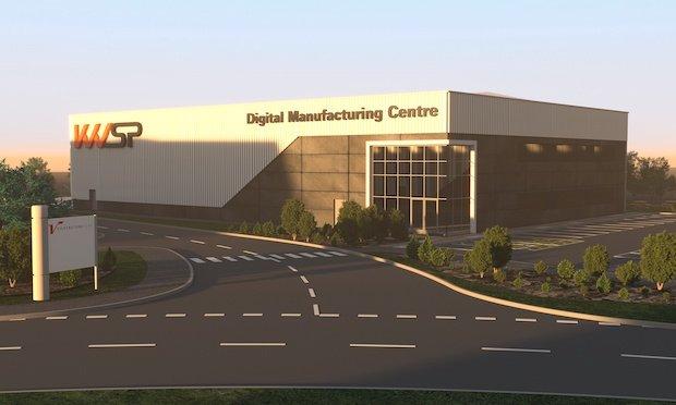 KWSP Digital Manufacturing Centre Render Silverstone