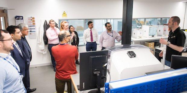 Sensor City lab tour