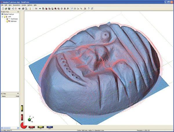 DeskProto Mask Screenshot