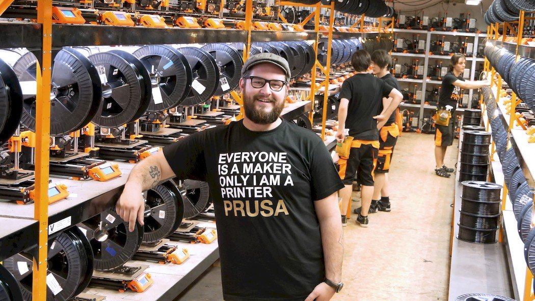 Interview Josef Prusa On Makers Breaking Records And Avoiding 3d Printing Hype Tct Magazine