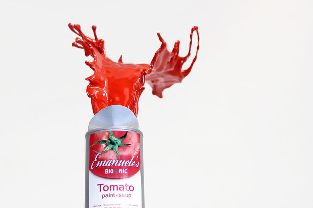 around i.materialise contest winner Emanuele Niri's piece Tomato Paint Soup