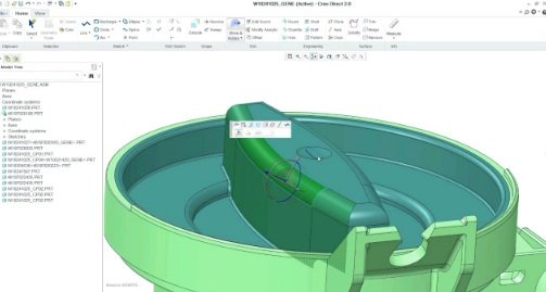 PTC Creo in action
