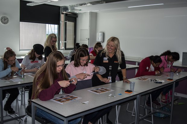 Renishaw Education girls in tech event