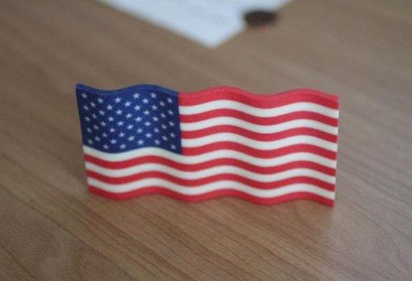 Shapeways American flag