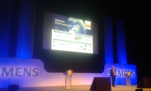 Siemens PLM Connection stage