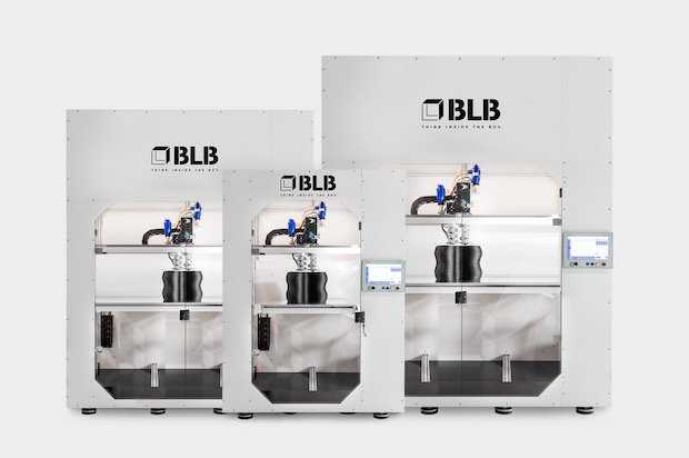 BLB Industries' portfolio of 3D printing platforms.