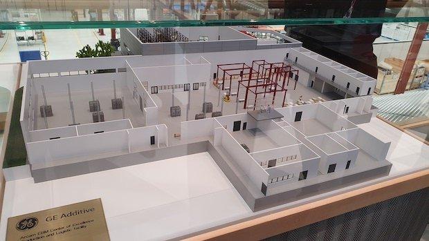 Arcam shop floor model