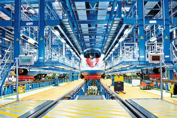 Siemens mobility train stratasys russia
