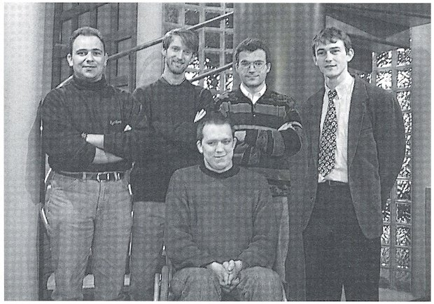Materialise software team 1995