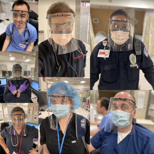 Columbia University Medical Center & New York-Presbyterian Hospital staff wear 3D printed face shields..png