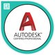 Certified professionals in most all Autodesk products