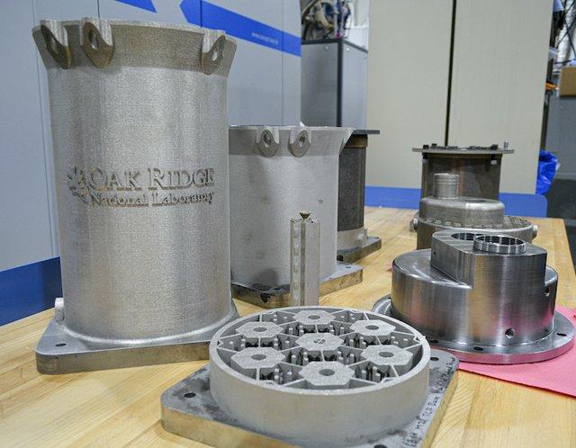 ORNL metal parts