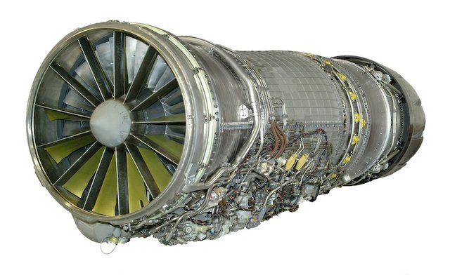 GE Aviation F110 engine.