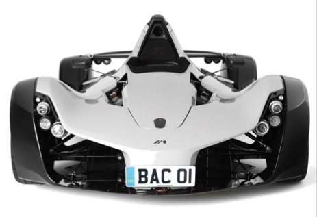 BAC Mono racing car