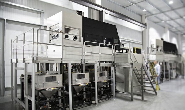 Falcontech's customised metal additive manufacturing system.