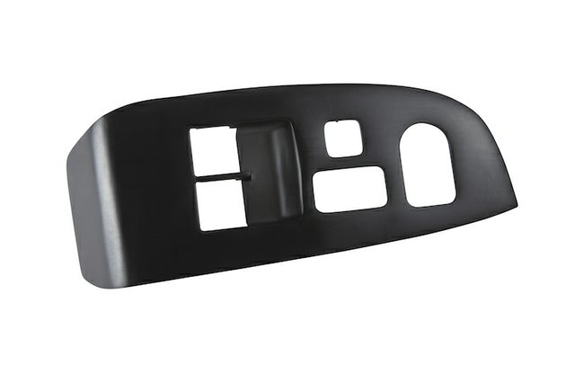 automotive interior car door control panel made from xCE-Black