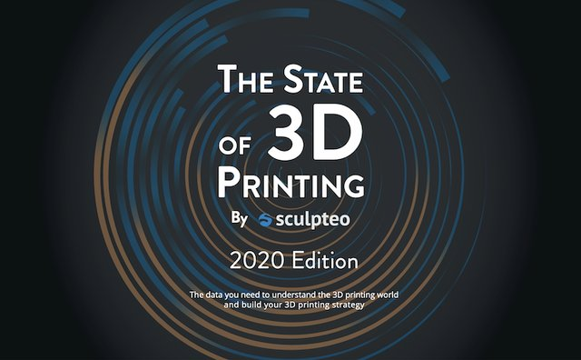 Sculpteo 2020 report cover image