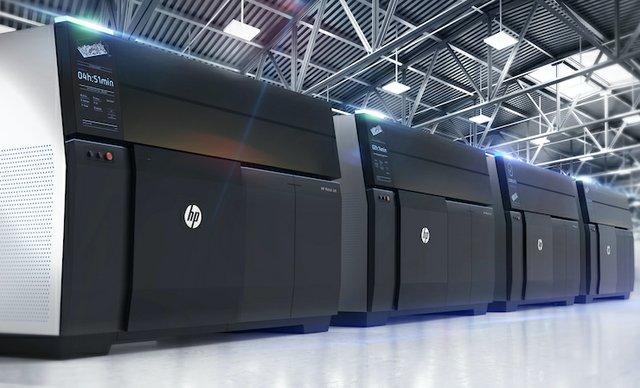 HP Metal Jet machines.