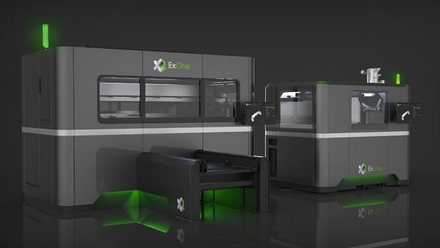 ExOne has redesigned a new green lighting feature into its new production metal printers.jpg