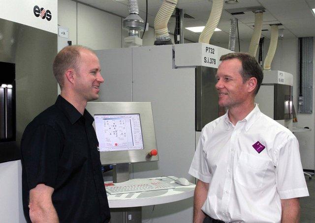 Martyn Harris and 3T RPD CEO Ian Halliday