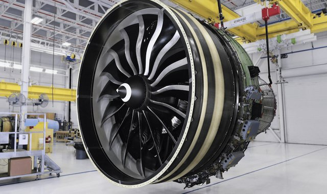 GE9X engine. Arcam EBm