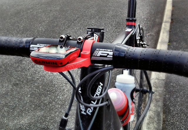GPS attached using a RaceWare mount