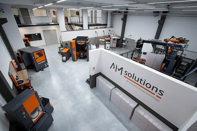 Rosler AM Solutions test and training centre