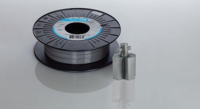 The new metal filament Ultrafuse 17-4 PH.  BASF