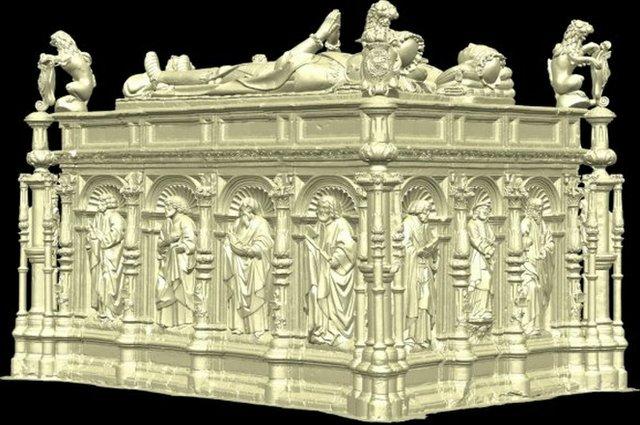 Tudor tomb