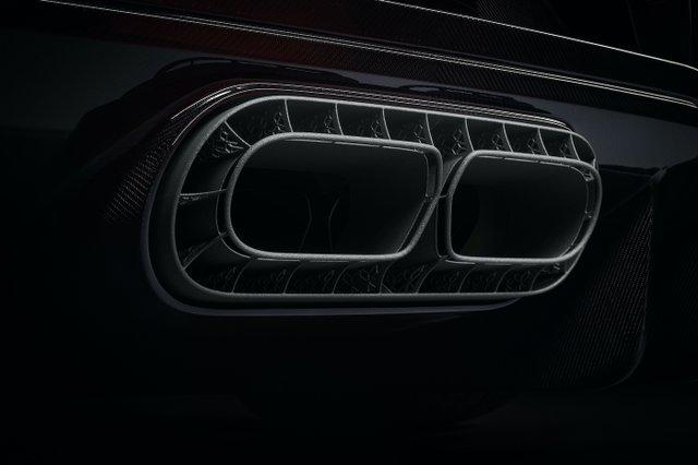 Bugatti exhaust