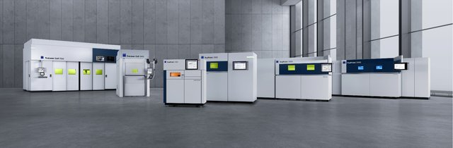 TRUMPF metal 3D printing systems and LMD solutions:  The right solution for every metal AM application